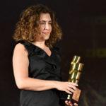 Anna Laura Orrico Sottosegretario Mibact premia lattore Claudio Amendola