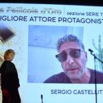 Cinzia Th Torrini ritira il premio di Sergio Castellitto