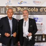 Francesco Rutelli presidente ANICA con il direttore Artistico de La Pellicola dOro Enzo De Camillis.