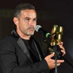 Samuele Brancato ritira il premio di Emiliano Novelli