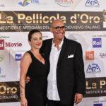 Stefano Masciarelli con la moglie Emiliana Morgante