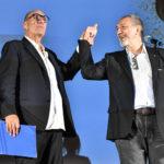 Stefano Masciarelli e il Direttore Artistico de La Pellicola dOro Enzo De Camillis