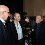 da Sx. Vito Maria dAdamo Mibact Enzo De Camillis e Bruno Altissimi produttore