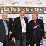 da sx Aldo Albano presidente FiTel Enzo De Camillis il produttore Bruno ALtissimi