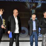 da sx. David Orlandelli Stefano Masciarelli Aldo Albano Samuele Brancato