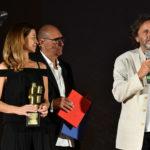 da sx. la produttrice Marina Marzotto Stefano Masciarelli e il capo elettricista Stefano Marino