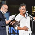 il regista Alessandro Capome premio loperatore di macchina Emiliano Leurini per il film 5 E IL NUMERO PERFETTO
