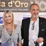 la giornalista RAI Giovanna Ventura con Enzo De Camillis
