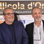 attore Claudio Amendola con Enzo De Camillis