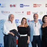 Gianni Quaranta con consorte e Enzo De Camillis con Anna Paglialonga